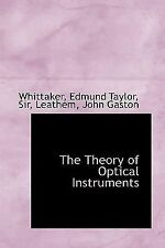 Theory of Optical Instruments