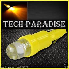 1x Ampoule T5 W1.2W W2X4.6D ( pour B8.3D ) LED Bulb Jaune Yellow Neo Wedge