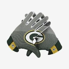 Size XXL 2X Nike NFL Green Bay Packers Stadium Football Gloves Lightweight  Adult 56ae8a563