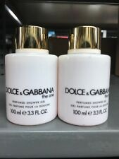 DOLCE And GABBANA THE ONE PERFUMED SHOWER GEL 200 ML/6.7 FL.OZ.