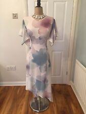 BNWT Beautiful John Rocha Floral Floaty Maxi Wedding Evening Party Dress Size 12