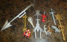 Power Ranger * Bandai * Weapon Battle Figures * Parts Lot 2 *