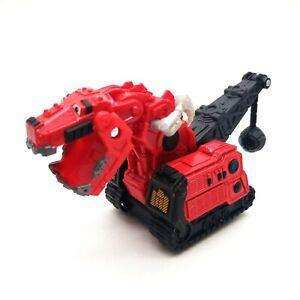 Mattel Dinotrux TY-RUX  Red Dinosaur Diecast Dreamworks Toy Kids Gift