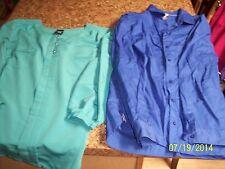 NEW Nikki, George, + White Stag Women's Size 20W Shirt Lot -4 Shirts-