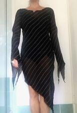Unique 90's Rock Goddess Sheer Sheath Dress Size Small
