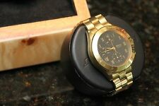 SOLID GOLD CHRONOGRAPH. OMEGA SEA MASTER MOVEMENT! SOLID GOLD !