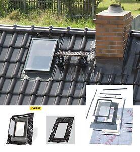 Ausstiegsfenster 47x73 WVD Versa Aussteiger Dachausstieg Kalträume Dachfenster