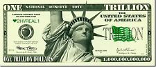 10 FAKE TRILLION DOLLAR BILLS NOTES FUNNY PRANK MENS BOYS TOY NOVELTY GIFT