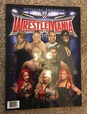 WWE - Wrestlemania 32 Program - Magazine WWF - Rare - Undertaker