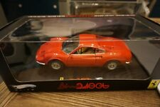 1:18 Hot Wheels Elite  FERRARI DINO 246 GT RED