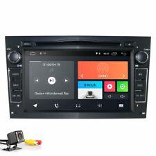 Black Android 9.0 Car Stereo DSP DVD GPS Navigation DAB+ for Opel Zafira Vectra