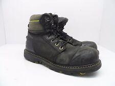 DAKOTA Men's 8'' X-Toe Quad Comfort Steel Toe Composite Plate Work Boot Black 10