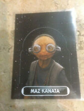 STAR WARS Force Awakens - Force Attax Extra Trading Card #137 Maz Kanata