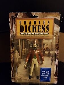 Accoutrements Charles Dickens Action Figure with Quill Pen & Hat