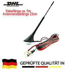 DAB Antenne AM FM Dachantenne DAB+ Autoantenne Verstärker SMB DIN Kombi-Antenne