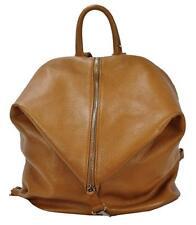 ae30669edddb5 BZNA Berlin Mara Cognac Backpacker Rucksack Handtasche Beutel Designer Leder