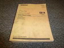 Caterpillar Cat 966F Wheel Loader Tractor w/ 3306 Engine Parts Catalog Manual