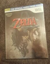 NEW Official Nintendo Power The Legend Of Zelda Twilight Princess Guide w/ CD