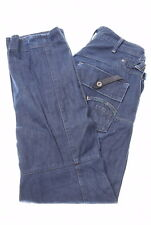 G-STAR Mens Jeans W34 L34 Navy Blue Cotton Tapered