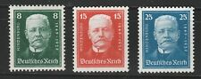 KAPPYSSTAMP 11718-118 GERMANY  SCOTT B19 B20 B21 MINT HINGED RETAIL $15