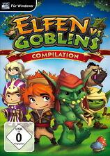 Elfes vs. les gobelins Compilation (pc-neuf)