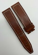 Authentic IWC 20mm x 18mm Brown Calfskin Leather Watch Strap Band E09765 OEM