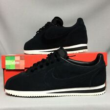 Nike Cortez Classic SE UK11 902801-004 EUR46 US12 Suede Black White nylon basic