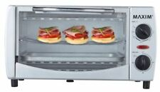 Maxim 1000W 9L Electric Toaster Oven/60 Min Timer/Caravan Grill for Home/Toast