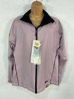 BNWT WOMENS PROQUIP LILAC ZIP UP LIGHTWEIGHT WATERPROOF CASUAL JACKET COAT SMALL