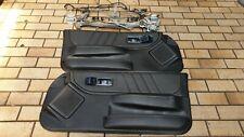 RARE set leather door card panels power window Honda CRX EE8 EF8 CIVIC EE9 EF9