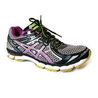 Asics GT-2000 2 Womens Sz 9.5 D Wide Gray Black Purple Running Training Shoes