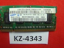 1GB Samsung DDR2-667 RAM PC2-5300S 2Rx16 SO-DIMM M470T2864EH3-CE6 Lenovo 40Y8403