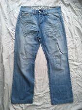 Hardcastle Goccia Cavallo Luce Blu 30x29 W30 29 41L complessivi Denim Jeans in buonissima condizione