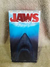 Jaws (VHS, 2000, 2-Tape Set, Anniversary Collectors Edition Double-Pack)