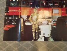 1977 STAR WARS OFFICIAL POSTER MONTHLY # 3 vintage original R2-D2 C-3PO magazine