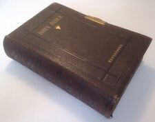 Holy Bible, King James Version, References, c1871, Eyre & Spottiswoode, Clasp