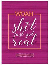 "Tf Publishing - Woah! Undated 7.5""x10.25"" Monthly Wedding Planner"