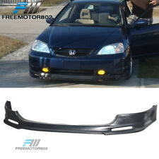 For 03-05 Honda Civic Si 3DR Hatchback EP3 Front Bumper Lip Spoiler Urethane