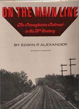 On the Main Line Pennsylvania Railroad in the 19th Century Train Alexander