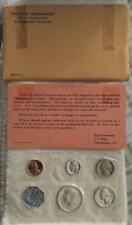 Quite Fresh 1964 U.S. 5 Coin Proof Set With 90% Silver Coins Free USA Shipping