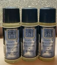 New Set of 3 Aromatherapy Massage Oils - Aqua, Aphrodisiac and Relaxing Blends