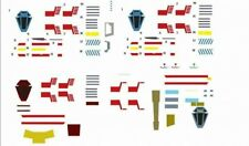 bandai vehicle model 002 1/144 x wing waterslide decals full rogue squadron