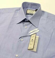 New Thomas Pink Mens Shirt Chambray Pale Blue Classic England 16 - 41cm RRP £125