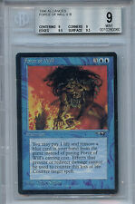 MTG Alliances Force of Will BGS 9.0 Mint Magic The Gathering WOTC 0060