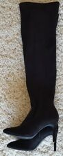 Black over the knee boots size 4
