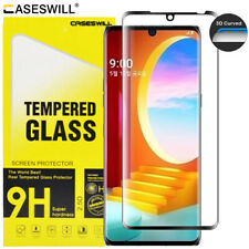 For LG Velvet 5G Caseswill 3D Curved Edge Tempered Glass Film Screen Protector