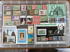 Turks and Caicos unchecked mint stamps