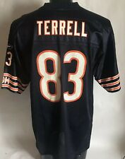 7c8a186d1c6 Chicago Bears Terrell #83 Reebok 2001-04 Home Jersey Large Ships Free
