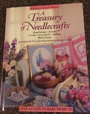 Rodale Craft Book A TREASURY OF NEEDLECRAFTS Book 100 Easy to Make Projects