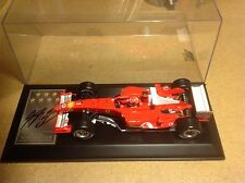 Signed Michael Schumacher 7x World Champ Presentation with COA